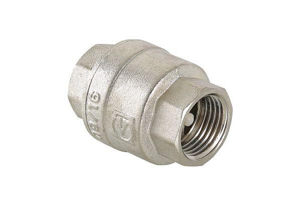 Обратный клапан никелированный