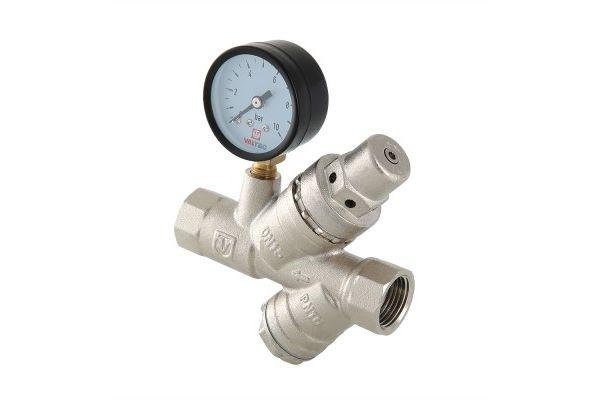 Подпиточный клапан с фильтром и манометром
