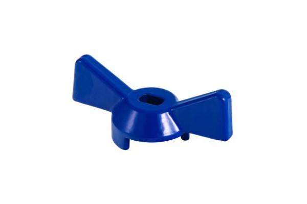 Ручка для крана синяя